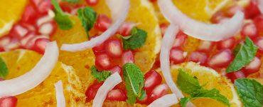 Easy Mediterranean Orange Pomegranate Salad Recipe