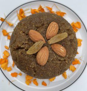Suji Gur Ka Halwa | Low Calorie Sheera Recipe | Semolina Pudding